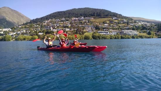 Queenstown Sea Kayaks: Family Fun