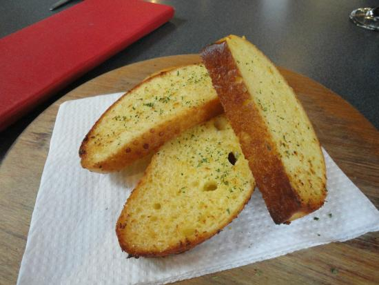 Zest: Garlic breads