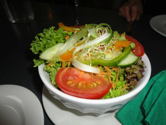 Zest: Garden salad