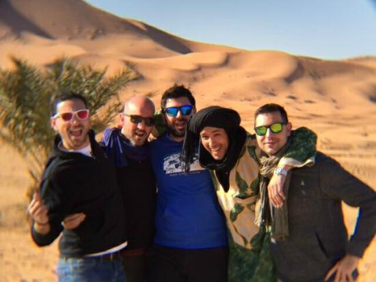 Soul Adventure 4x4 Day Tours: Amanecer en el Campamento de Jaimas en Merzouga