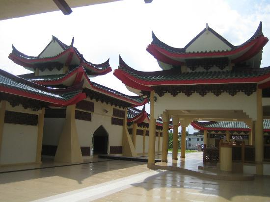 Rantau Panjang, Μαλαισία: The mosque that looks like a Chinese temple
