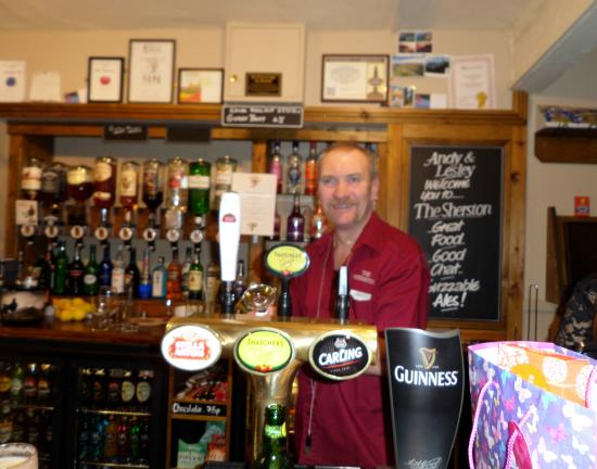 The Sherston Inn: Andy, The Boss!
