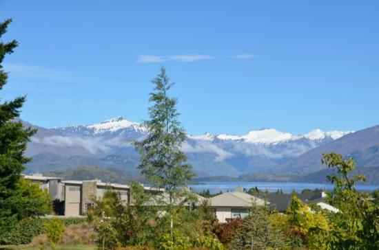 Websters on Wanaka Lodge: View from the room
