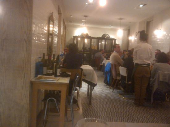 La salle picture of la candela resto madrid tripadvisor for Resto lasalle