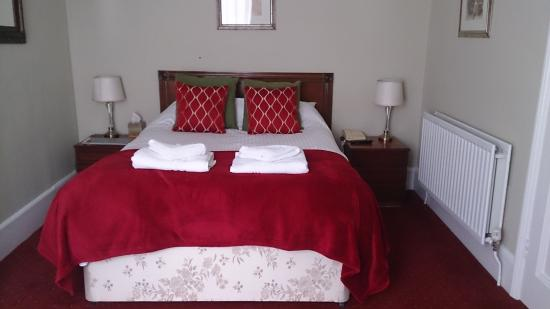 The Radnorshire Arms: Room 12, double room on the top floor