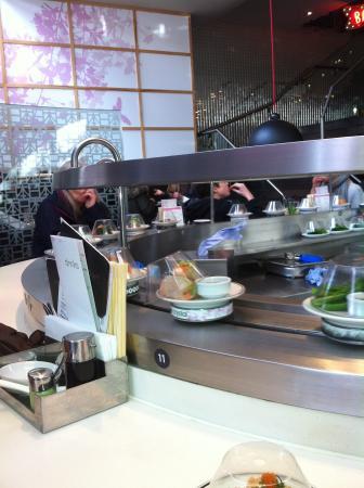 Itsu: Sushi top