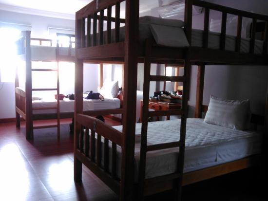 The Bliss Villa: dortoirs avec literie confortable