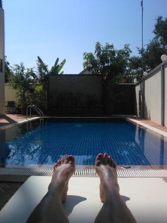 Bliss Villa: la piscine ...
