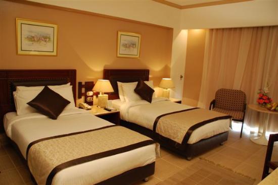 Pyramids Park Resort: Twin Bed Room 1