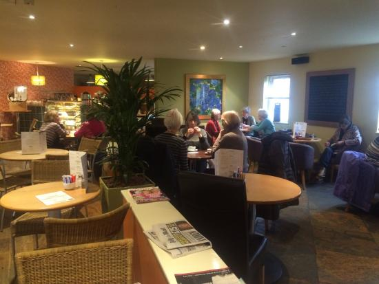 Upstairs Cafe. Bakewell.