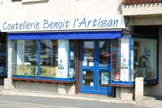 Laguiole, Γαλλία: Benoit l'Artisan boutique