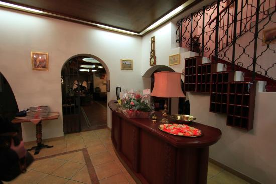 Hotel Regina delle Dolomiti: Reception