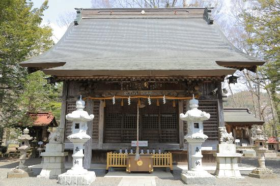 Oshino Hakkai Sengen Shrine