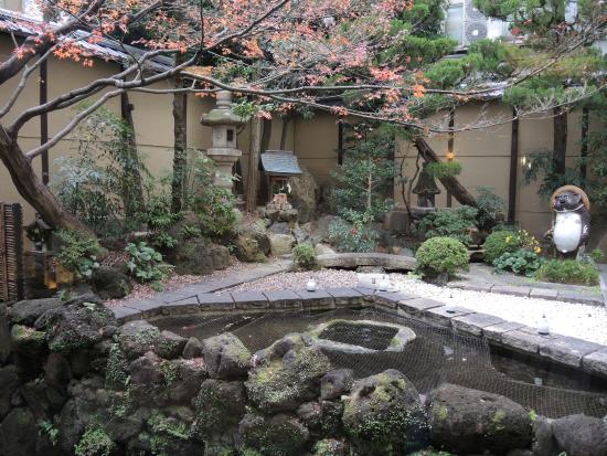 Nishiyama Ryokan : the japanese garden
