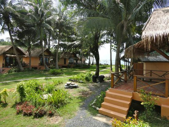 Nautilus Resort: View from bungalow