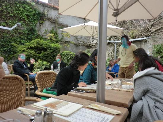Vivaldi Restaurant: テラス席