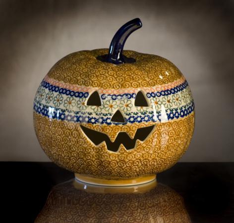 Polish Pottery: Pumpkins