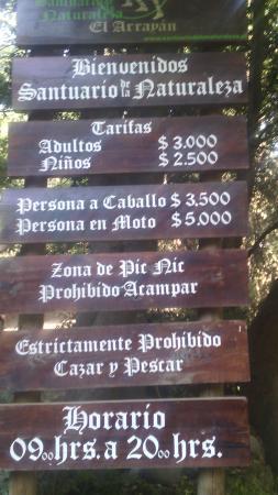 Santiago, Chile: estas son las tarifas actuales en el santuario