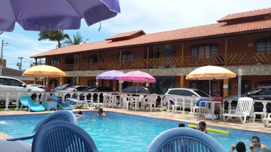 Hotel Pousada Paradise: foto tirada da piscina