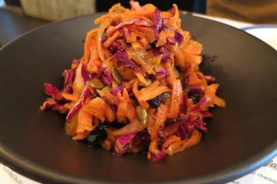 The Awakening: Delicious carrot salad.