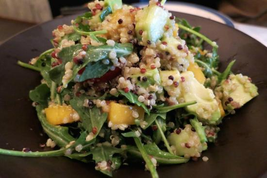 The Awakening: Looking for a change? Try our quinoa salad.