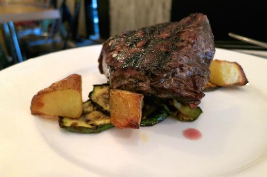 The Awakening: Ostrich steak for those that crave meat.
