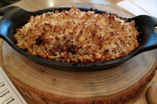 The Awakening: Who can say no to fruit crumble?