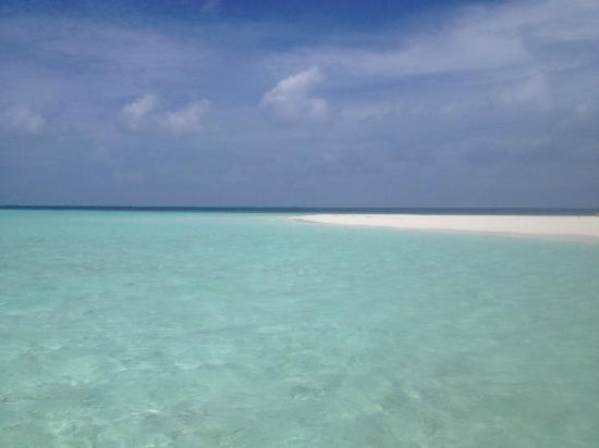 Cruise-Maldives: sandbank