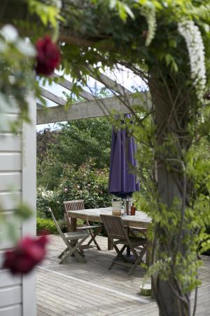 Coombe Farm Bed and Breakfast: Outside seating
