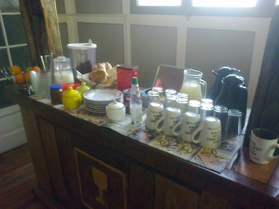 Kombi Hostel: Café da Manhã