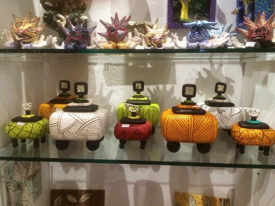 Ceramic Vases Picture Of Puerto Rican Art Crafts San Juan