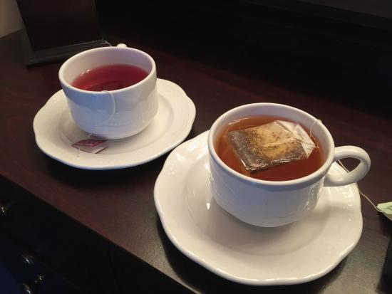 Medbery Inn and Day Spa: Complimentary Tea