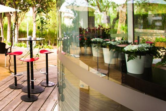 Nuestra terraza fotograf a de amaranto colegio de - Arquitectos interioristas malaga ...