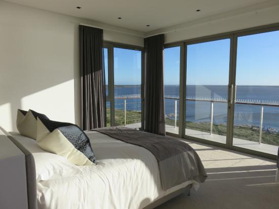 Benguela Cove Lagoon Wine Estate: view from a bedroom