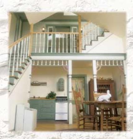 Egg Harbor, วิสคอนซิน: Garden Suite Kitchen