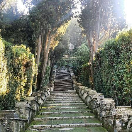 Tiber Limo : Villa d'easte Trip