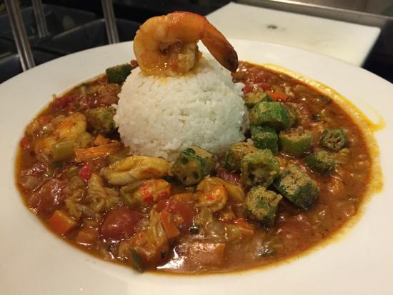 Eddie Papa's American Hangout: Lake Charles Seafood Gumbo