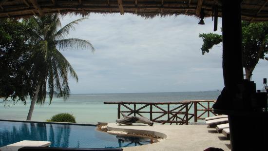 Beyond The Blue Horizon Villa Resort : Blick vom Pool