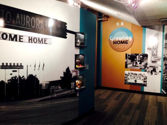 Aurora History Museum: Growing Home exhibit on Aurora history