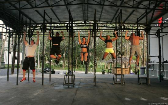 Crossfit Rig Picture Of Titan Fitness Chalong Tripadvisor