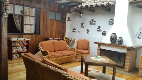 Casa Ordonez : Sala de leitura no segundo andar