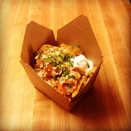 The Mess Hall Poutinerie: Butter Chicken Poutine