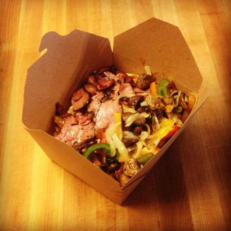 """The Mess Hall Poutinerie: """"Up In Smoke"""" Montreal Smoked Meat Poutine"""