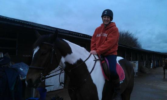 Fifield, UK: Riding Polo