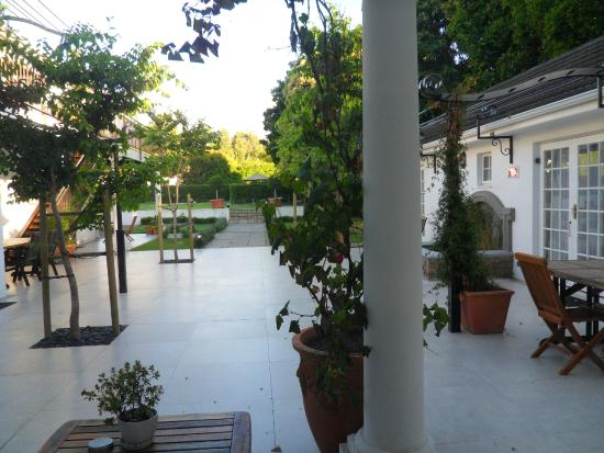 Constantia White Lodge: View from room