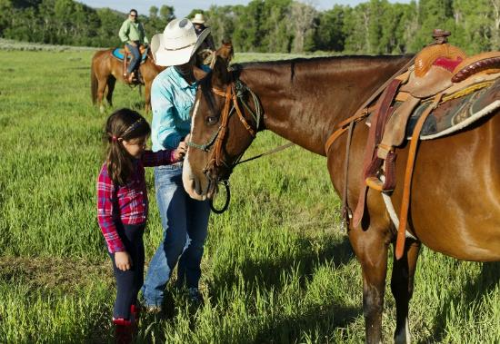 The Lodge and Spa at Brush Creek Ranch: Fun for the whole family