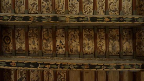 Plafond peint en bois photo de royal boutique residence for Royal boutique residence prague tripadvisor