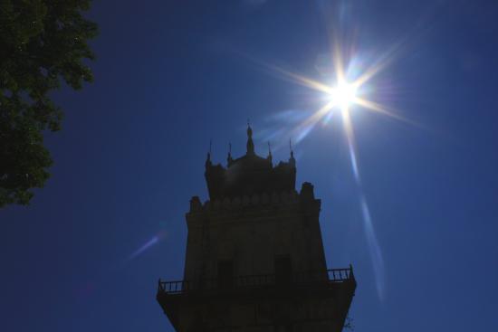 Nanmyin Watch Tower: Sole cocente