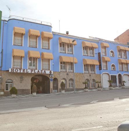 Hotel Plaza Manjón: Fachada