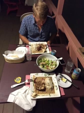 Chez Pierre Bahamas: Lobster night!